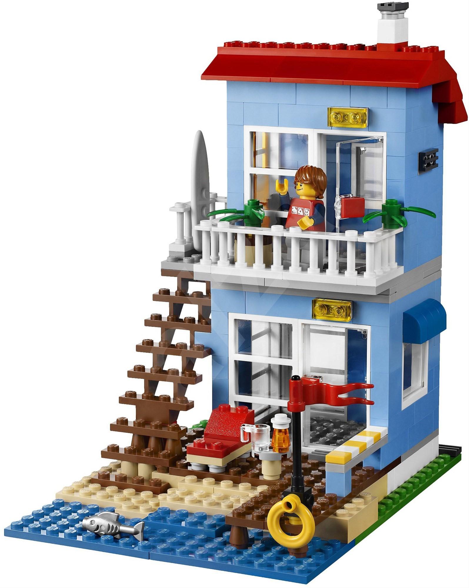 Lego creator 7346 beach house building kit for House creator