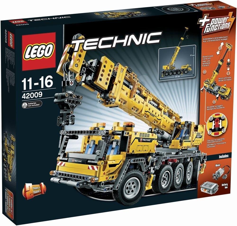 lego technic mobile crane 42009 mk ii building kit. Black Bedroom Furniture Sets. Home Design Ideas