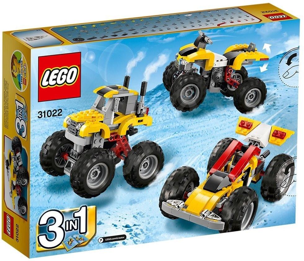 Four Wheeler Turbo Kits : Lego creator turbo atv building kit alzashop