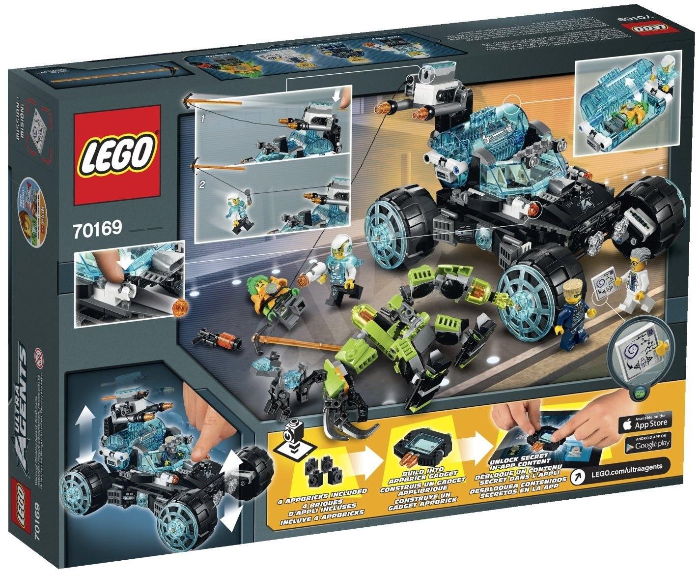 lego agents ultra 70169 agent stealth patrol building kit. Black Bedroom Furniture Sets. Home Design Ideas