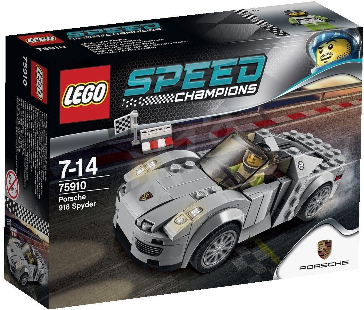 lego speed champions 75910 porsche 918 spyder building kit. Black Bedroom Furniture Sets. Home Design Ideas