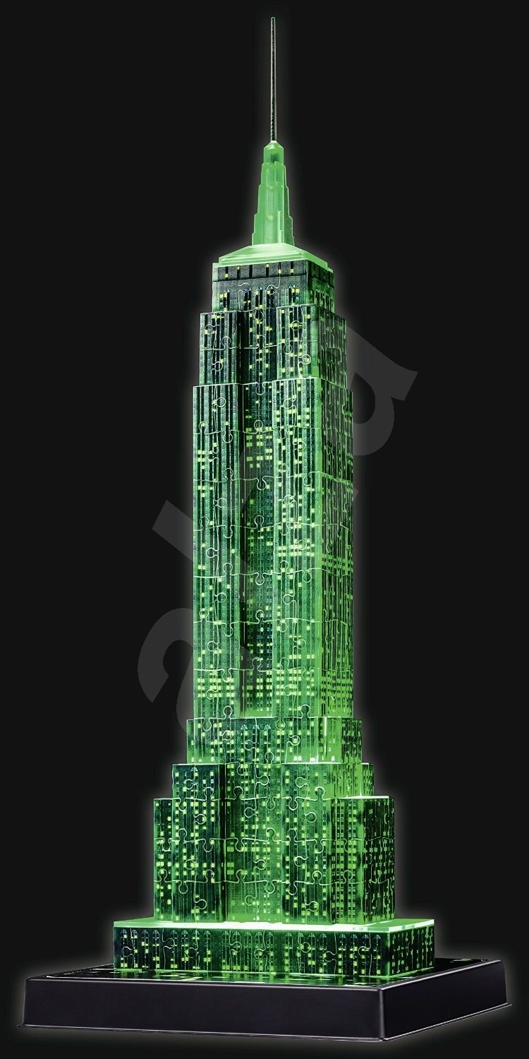 empire state building 3d puzzle. Black Bedroom Furniture Sets. Home Design Ideas