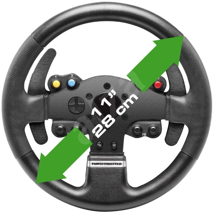 tmx thrustmaster force feedback steering wheel. Black Bedroom Furniture Sets. Home Design Ideas