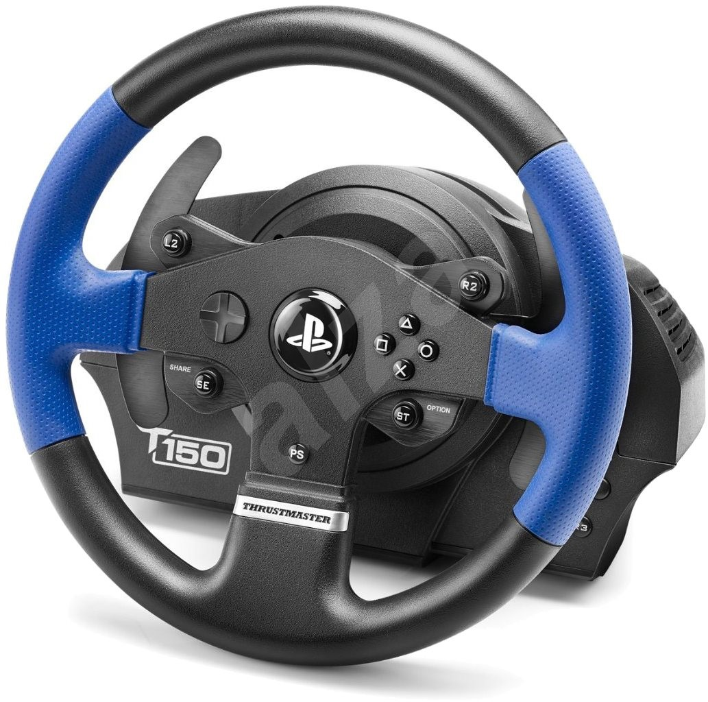 thrustmaster t150 rs force feedback volant. Black Bedroom Furniture Sets. Home Design Ideas