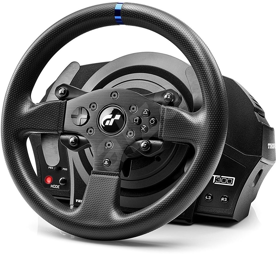 thrustmaster t300 rs gt edition volant. Black Bedroom Furniture Sets. Home Design Ideas