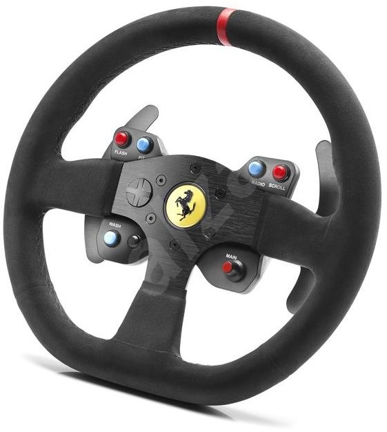 thrustmaster ferrari 599xx evo 30 alcantara wheel add on volant. Black Bedroom Furniture Sets. Home Design Ideas