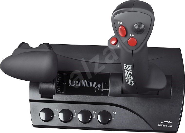 SPEED LINK BLACK WIDOW Flightstick - Joystick | Alzashop.com