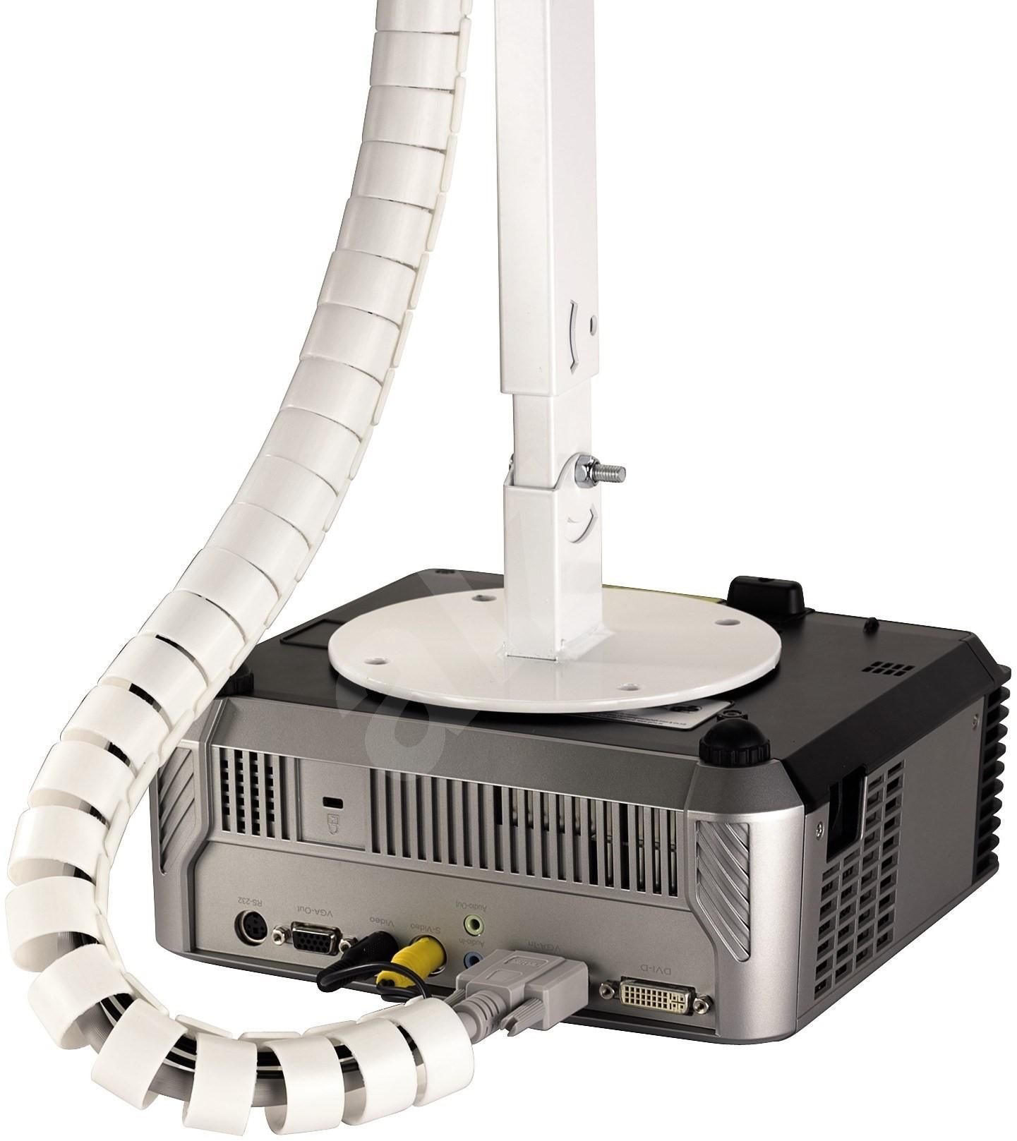 rohre f r kabel 1 5 m wei kabel organizer. Black Bedroom Furniture Sets. Home Design Ideas