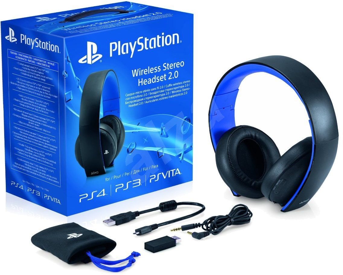 how to connect wireless headphones to ps4
