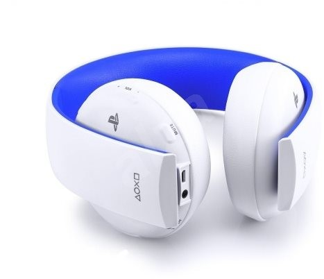 sony ps4 wireless stereo headset 2 0 boxed white. Black Bedroom Furniture Sets. Home Design Ideas