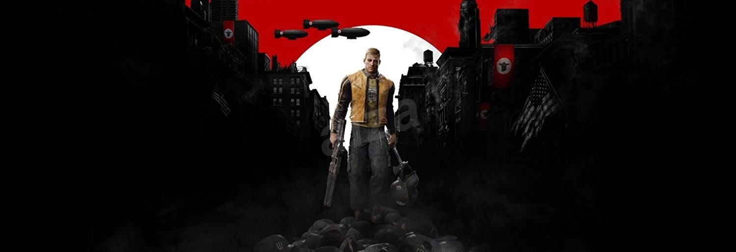 wolfenstein ii the new colossus welcome to amerika ps4. Black Bedroom Furniture Sets. Home Design Ideas
