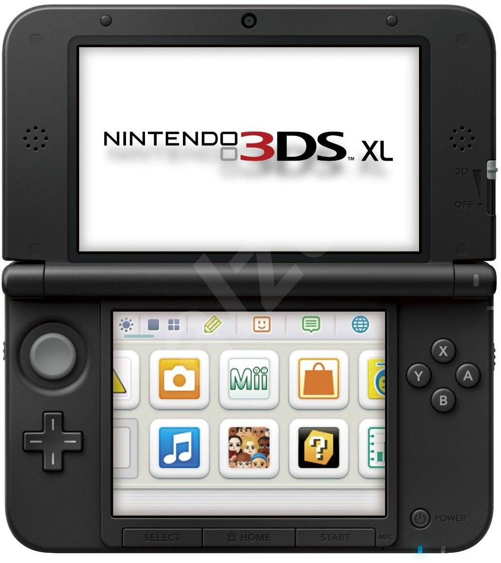 nintendo 3ds xl black silver mario kart 7 game console. Black Bedroom Furniture Sets. Home Design Ideas