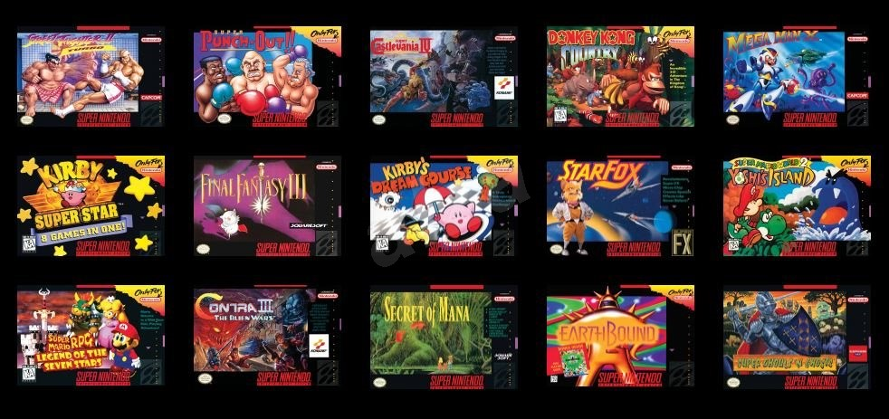 Nintendo classic mini super nintendo entertainment system snes game console - Snes classic game console ...