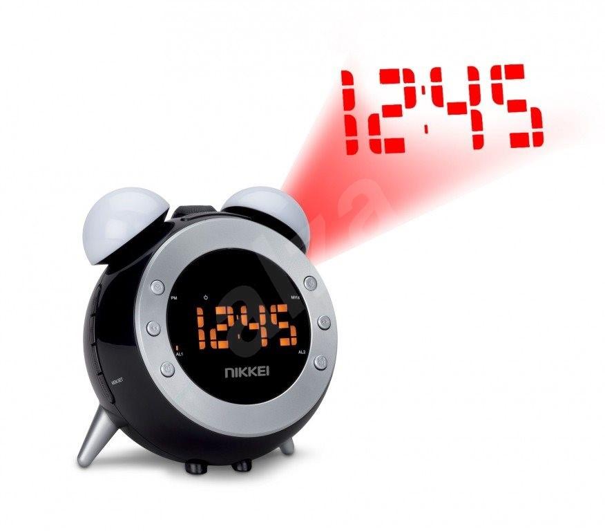 nikkei nr280p radio alarm clock. Black Bedroom Furniture Sets. Home Design Ideas