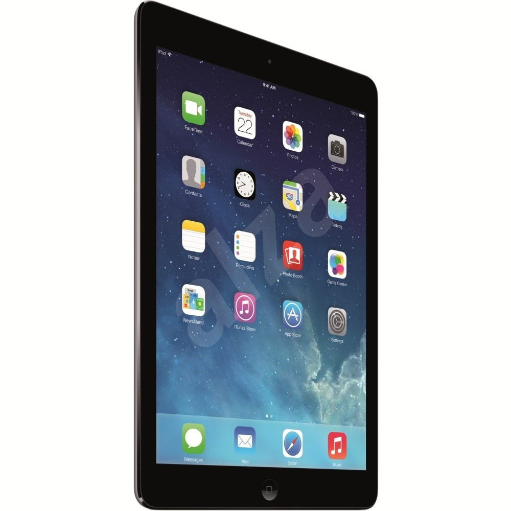 ipad air 16gb wifi space gray black tablet. Black Bedroom Furniture Sets. Home Design Ideas