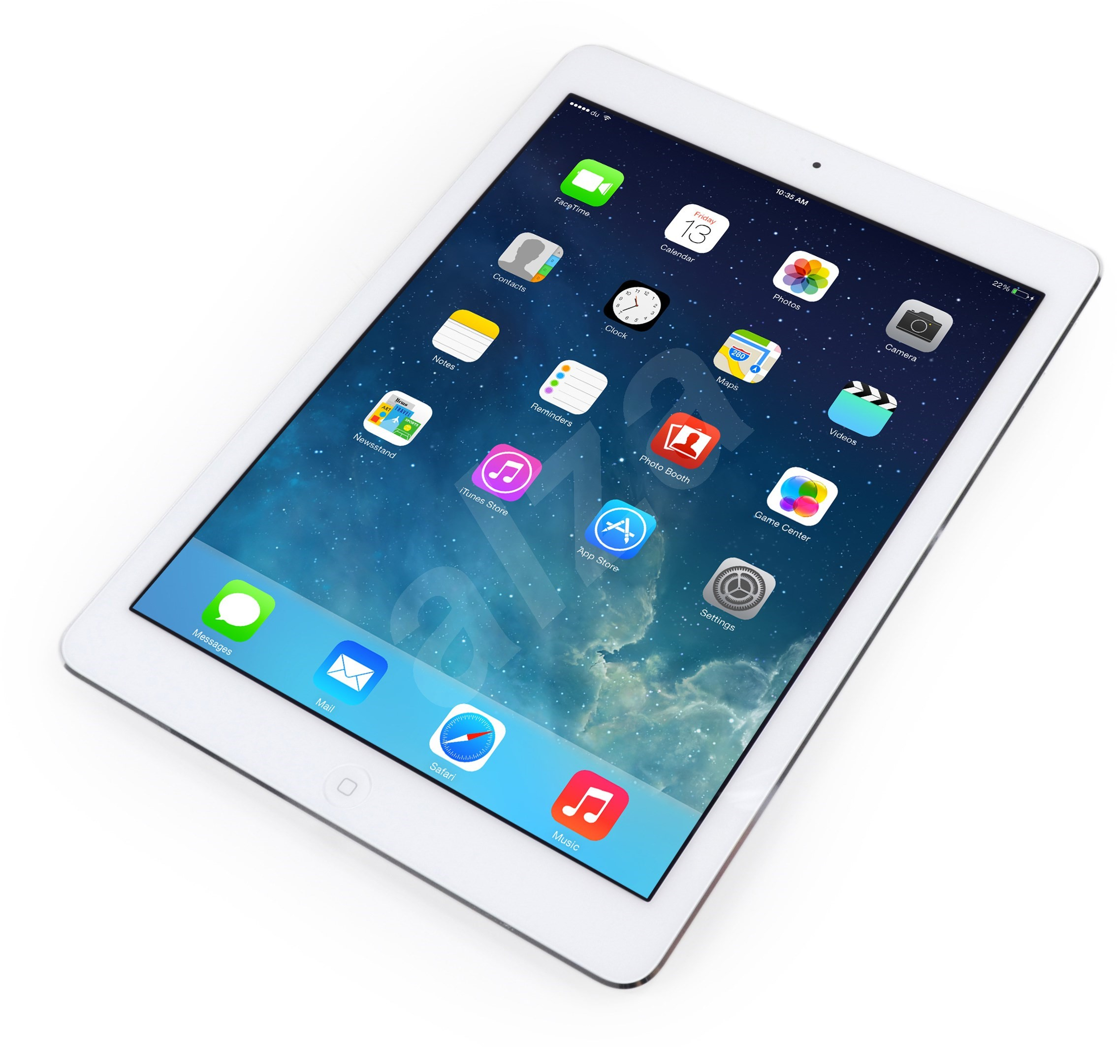 ipad air 16gb wifi silver white tablet. Black Bedroom Furniture Sets. Home Design Ideas