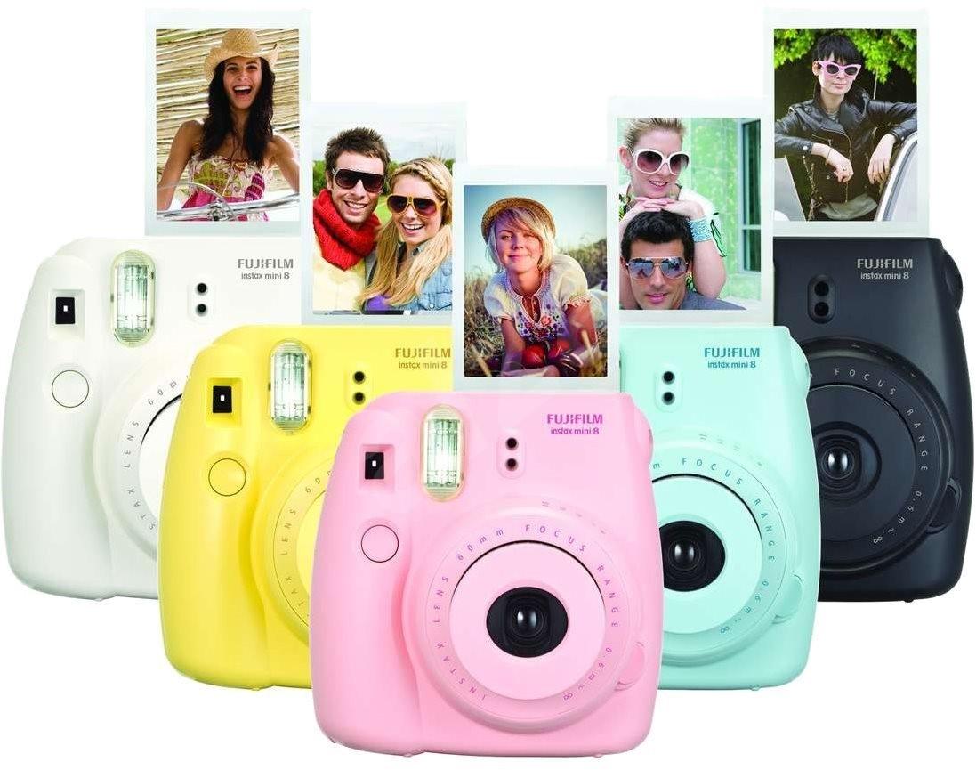 fujifilm instax mini 8 instant camera small kit digital. Black Bedroom Furniture Sets. Home Design Ideas