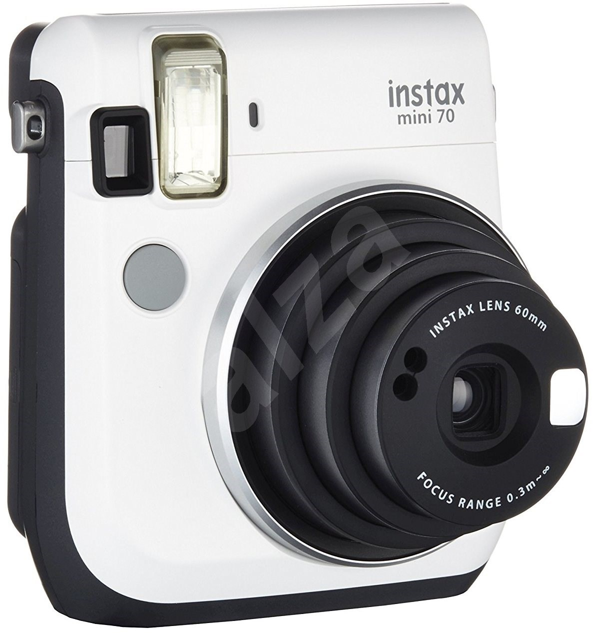 fujifilm instax mini 70 white digital camera. Black Bedroom Furniture Sets. Home Design Ideas