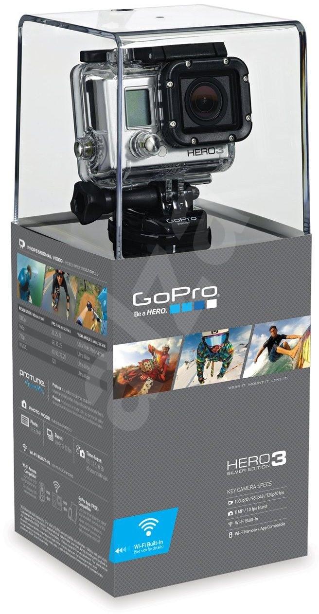 gopro hd hero3 silver edition kamera. Black Bedroom Furniture Sets. Home Design Ideas