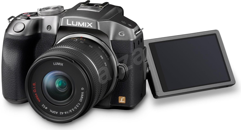 panasonic lumix dmc g6 st brn objektiv 14 42mm digit ln fotoapar t. Black Bedroom Furniture Sets. Home Design Ideas
