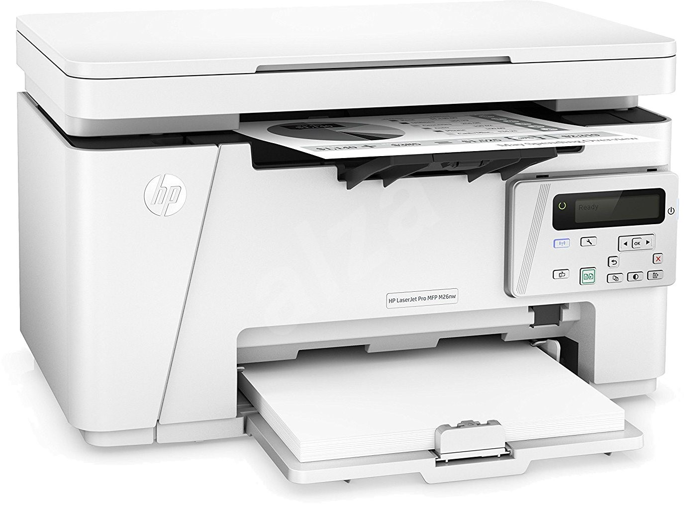 how to connect hp mfp m125nw to wifi