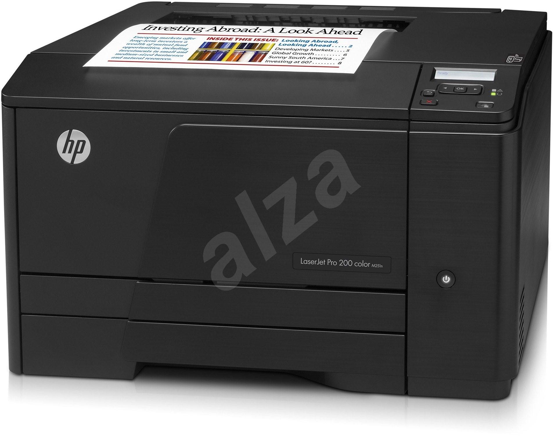 HP LaserJet Pro 200 color M251n - Laser Printers | Alzashop.com