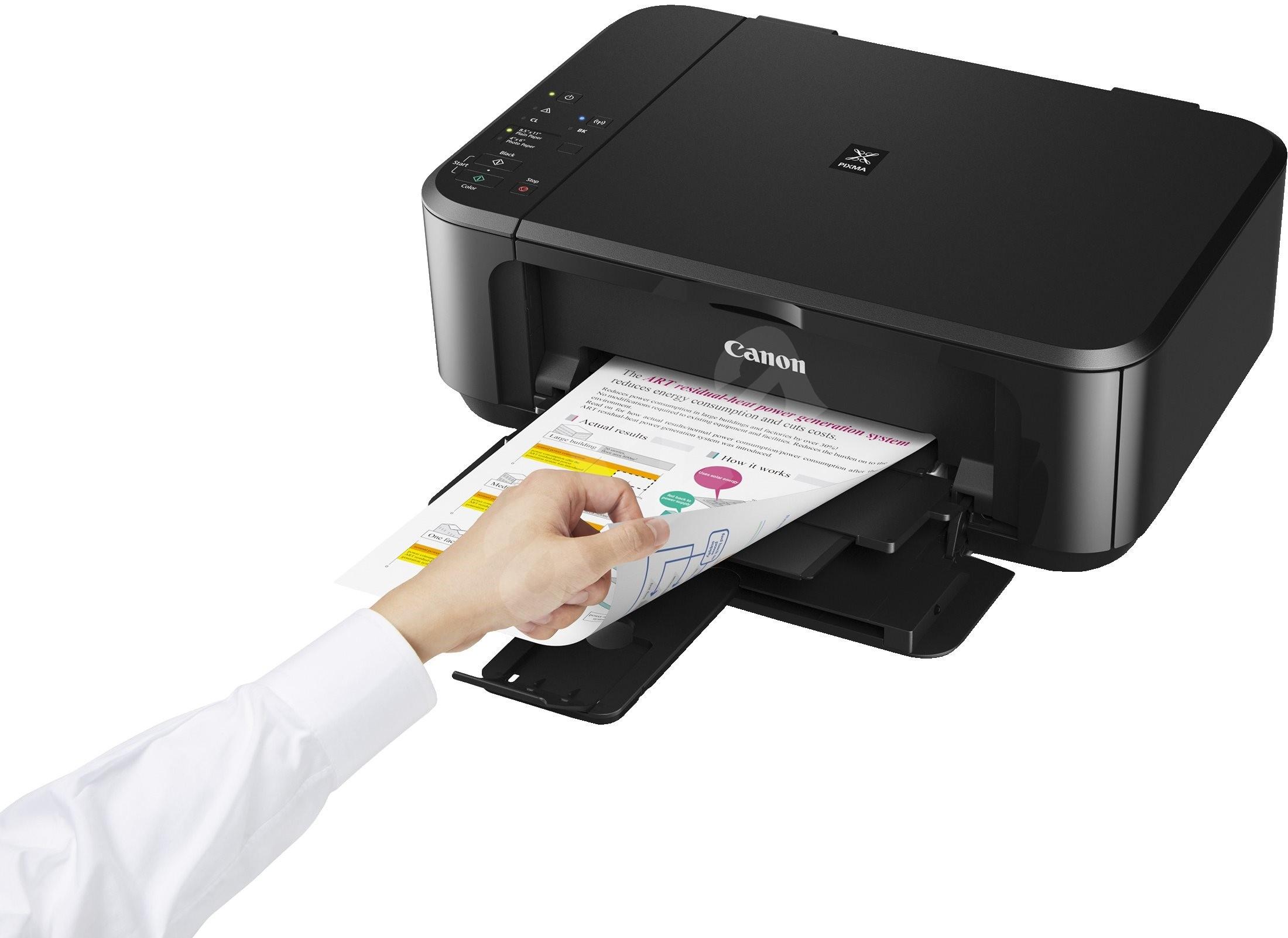 canon pixma mg3650 black inkjet printer. Black Bedroom Furniture Sets. Home Design Ideas