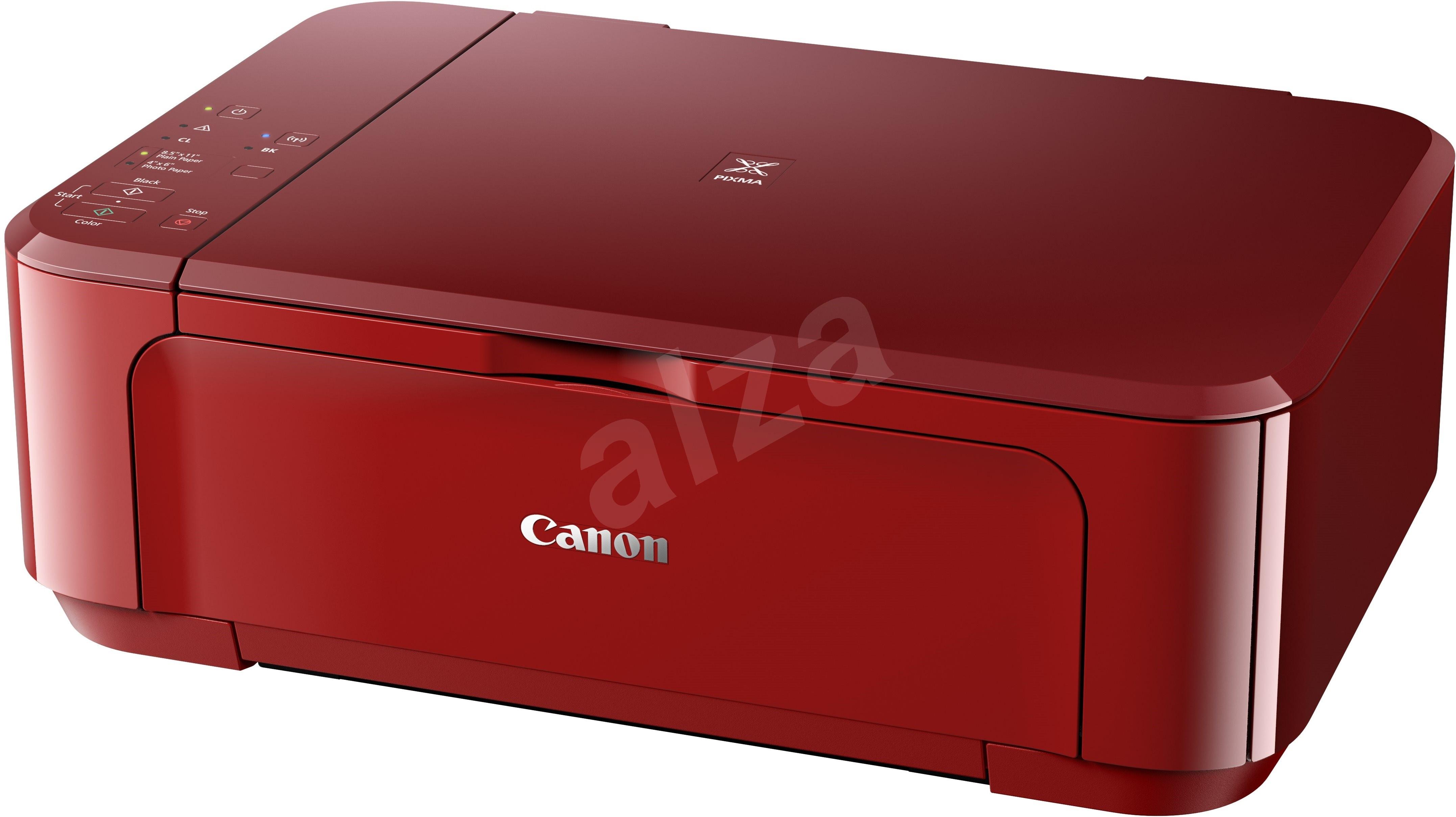 canon pixma mg3650 red inkjet printer. Black Bedroom Furniture Sets. Home Design Ideas