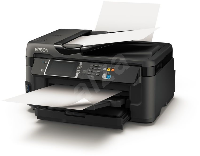 epson workforce wf 7610dwf inkjet printer. Black Bedroom Furniture Sets. Home Design Ideas