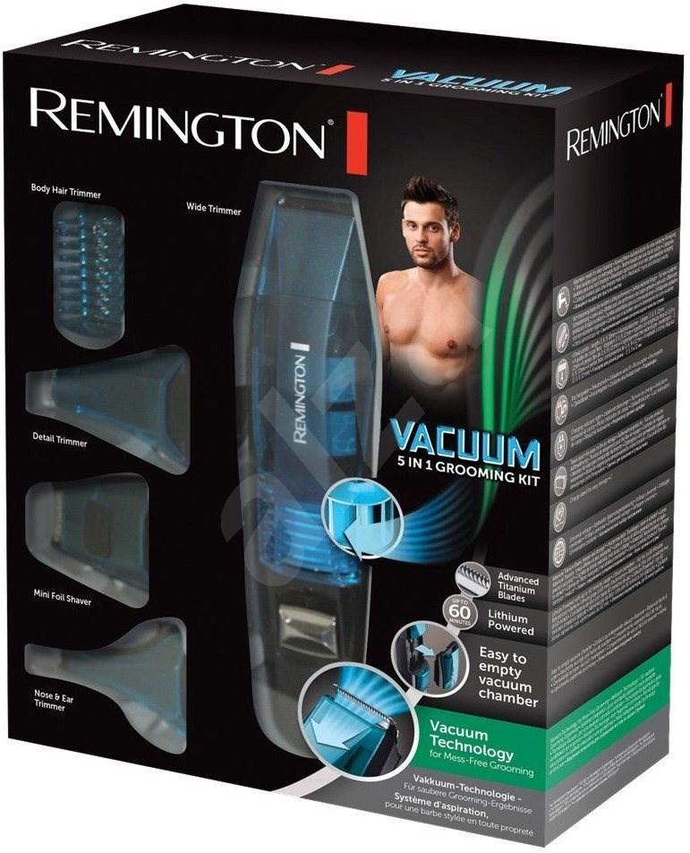 remington pg6070 vacuum personal grooming kit trimmer. Black Bedroom Furniture Sets. Home Design Ideas