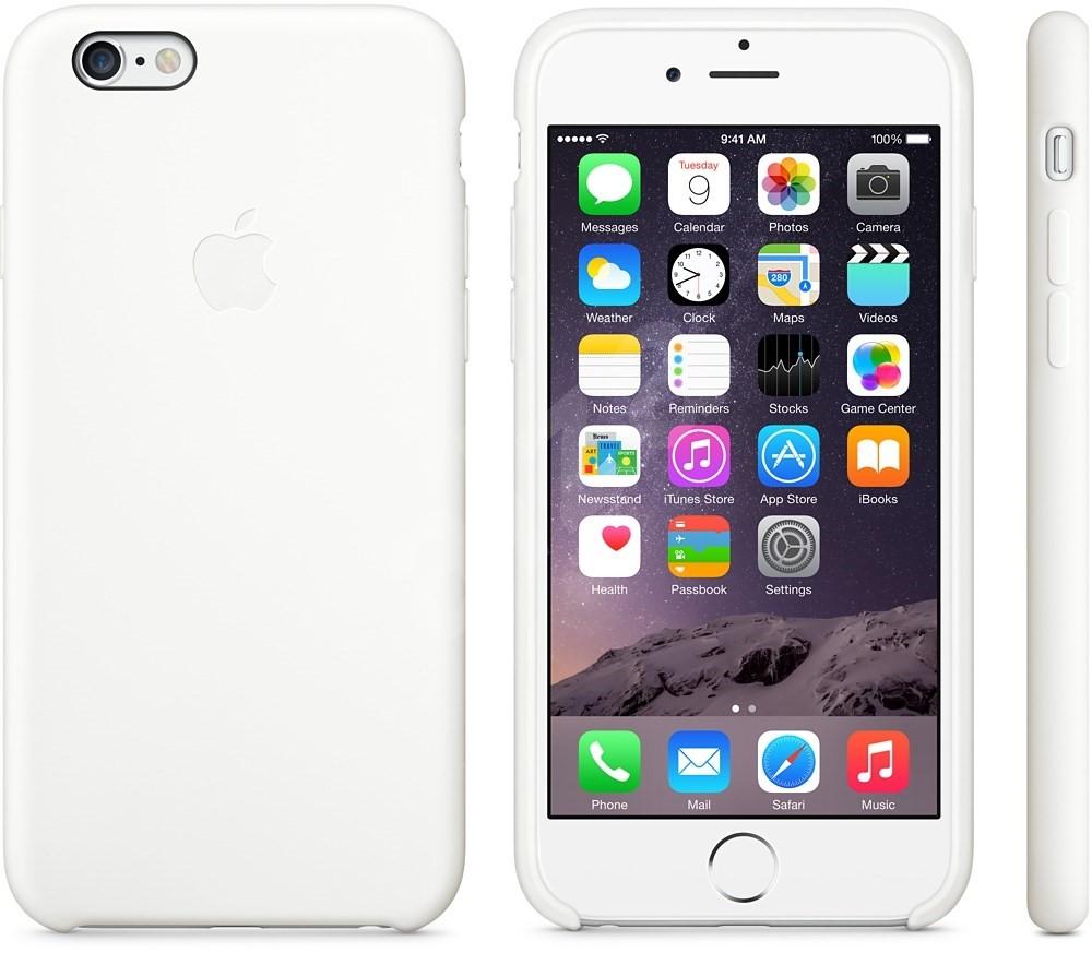 apple iphone 6 plus silikon case wei handyh lle. Black Bedroom Furniture Sets. Home Design Ideas