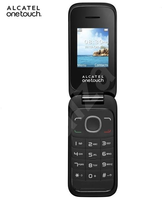 alcatel onetouch 1035d dark grey dual sim mobile phone. Black Bedroom Furniture Sets. Home Design Ideas