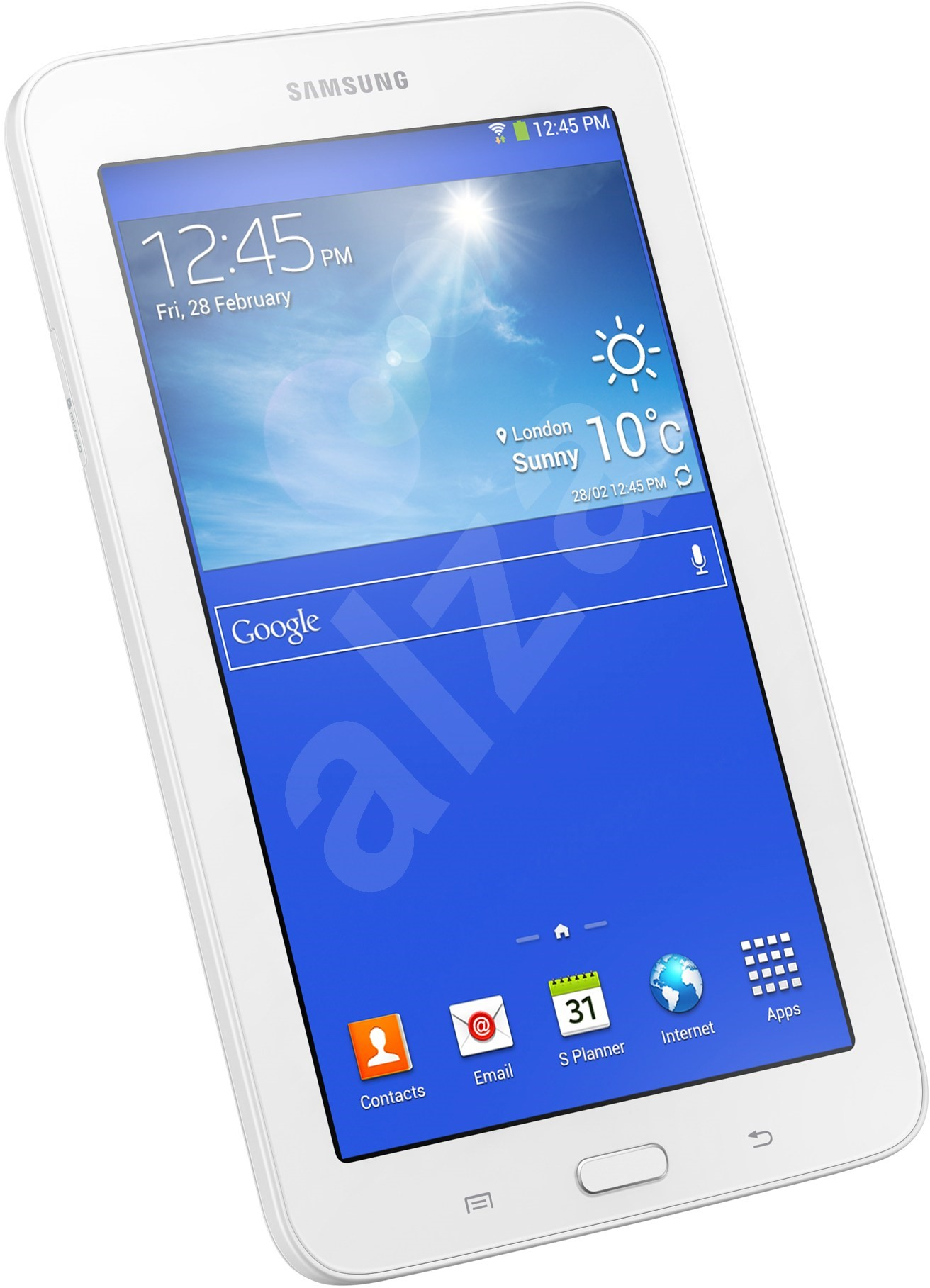 samsung galaxy tab 3 7 0 lite wifi white 8gb sm t110 tablet. Black Bedroom Furniture Sets. Home Design Ideas