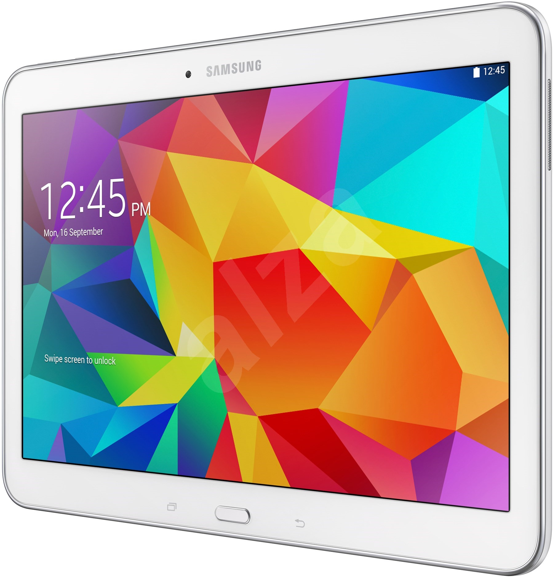 samsung galaxy tab 4 10 1 wifi white sm t530 tablet. Black Bedroom Furniture Sets. Home Design Ideas