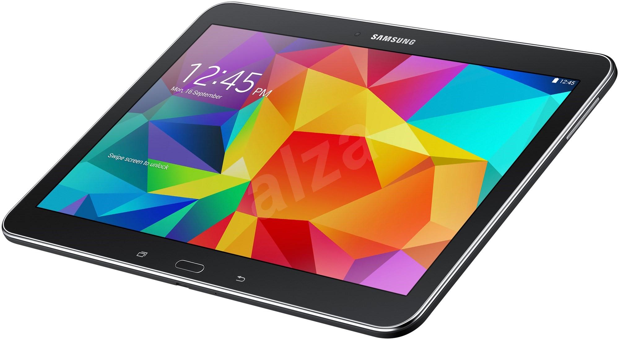 samsung galaxy tab 10 1 lte 4 black sm t535 tablet. Black Bedroom Furniture Sets. Home Design Ideas