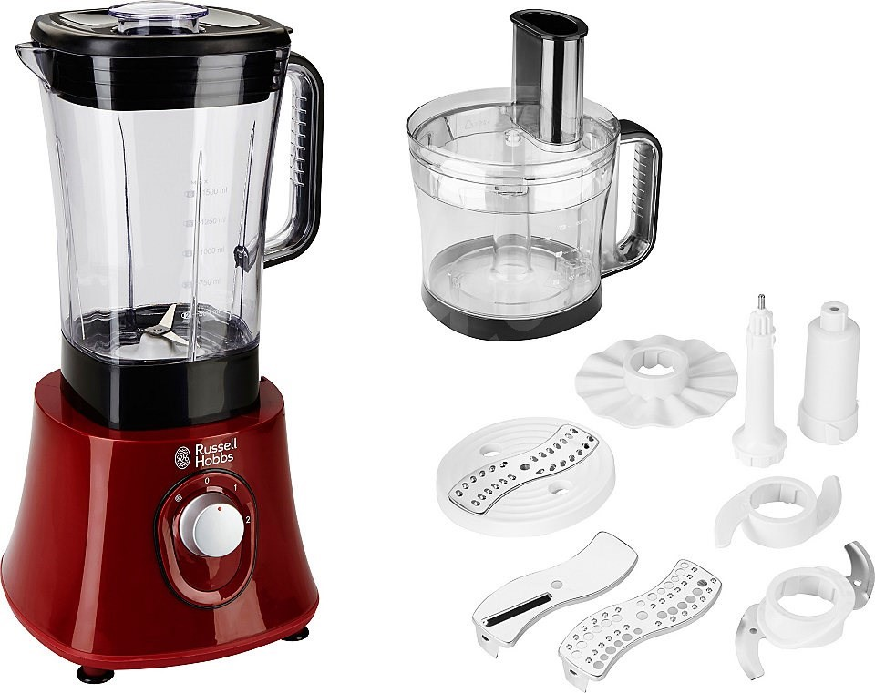 russell hobbs desire food processor red 19006 56. Black Bedroom Furniture Sets. Home Design Ideas