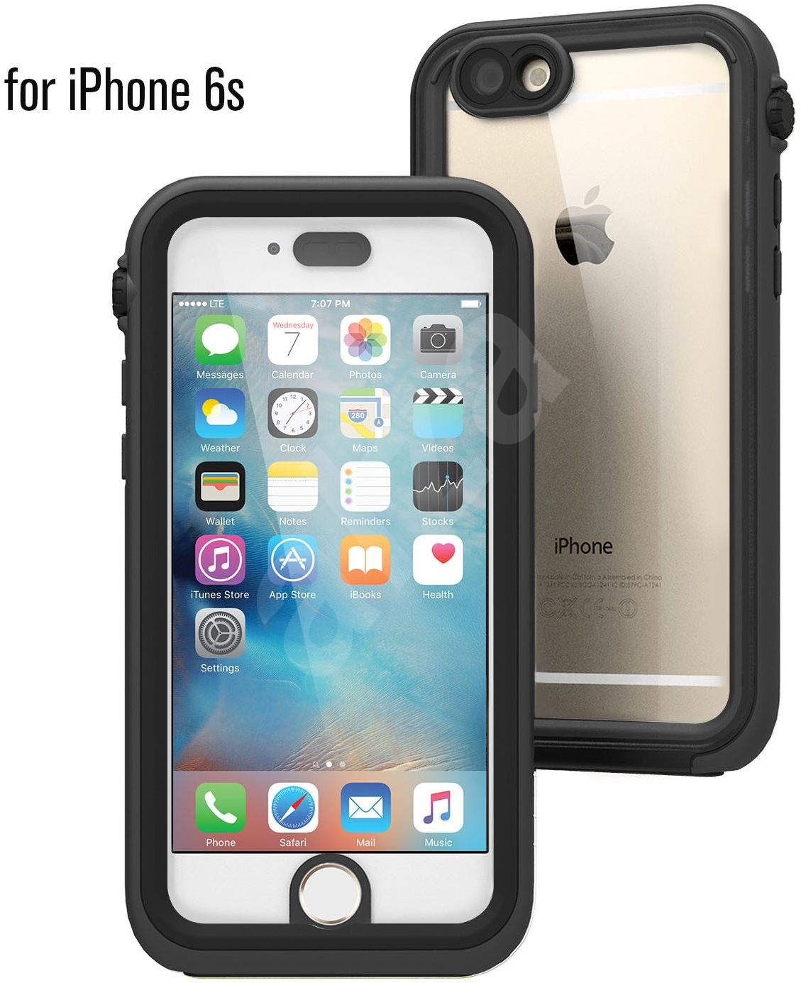 catalyst waterproof case for iphone 6 6s black grey case. Black Bedroom Furniture Sets. Home Design Ideas