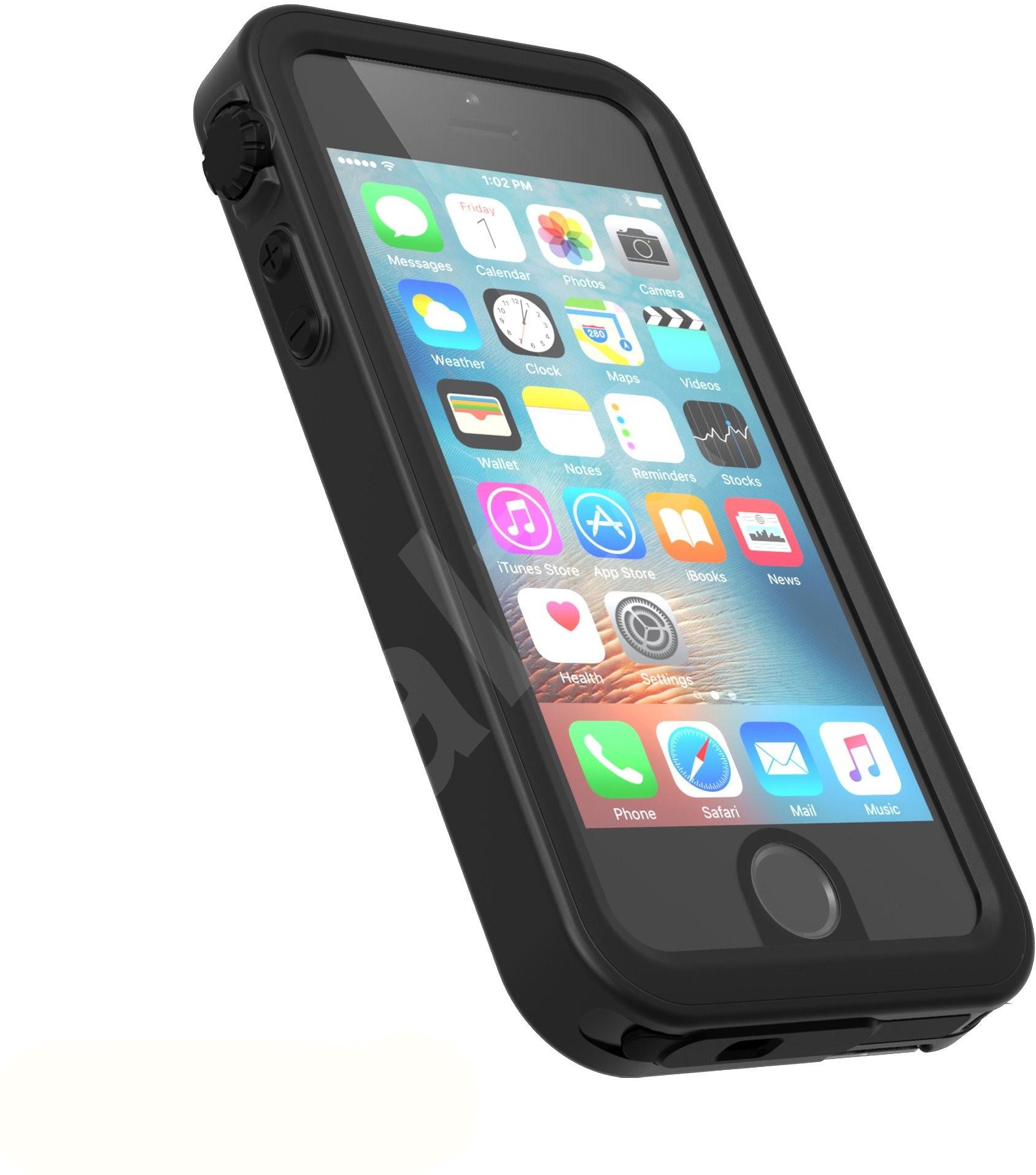 katalysator wasserdicht schwarz iphone se 5s 5 h lle. Black Bedroom Furniture Sets. Home Design Ideas