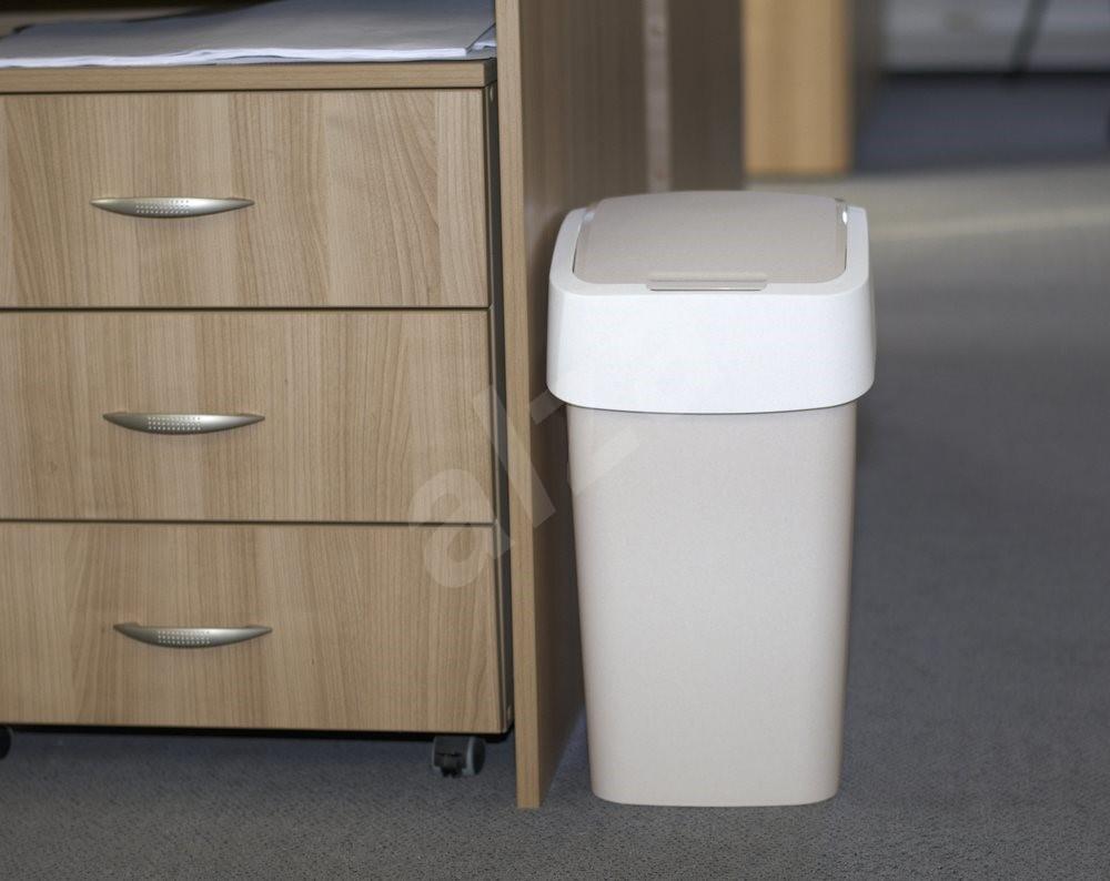 curver 50l flipbin savanne trash abfalleimer. Black Bedroom Furniture Sets. Home Design Ideas