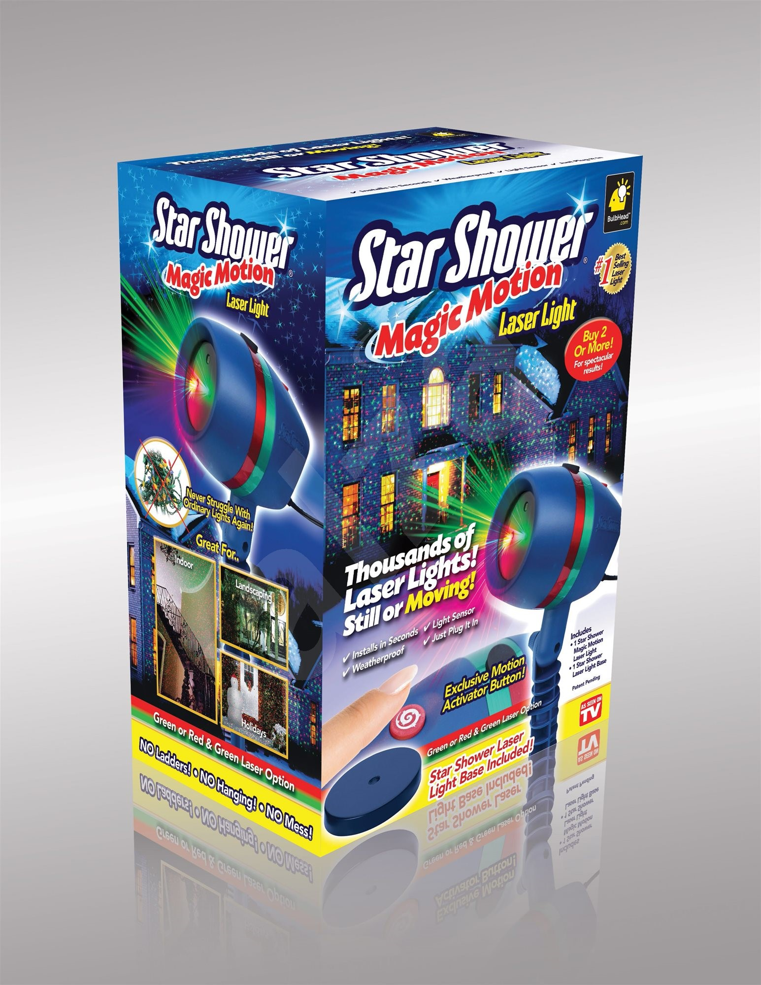 Star shower motion lampa for Star shower motion m6