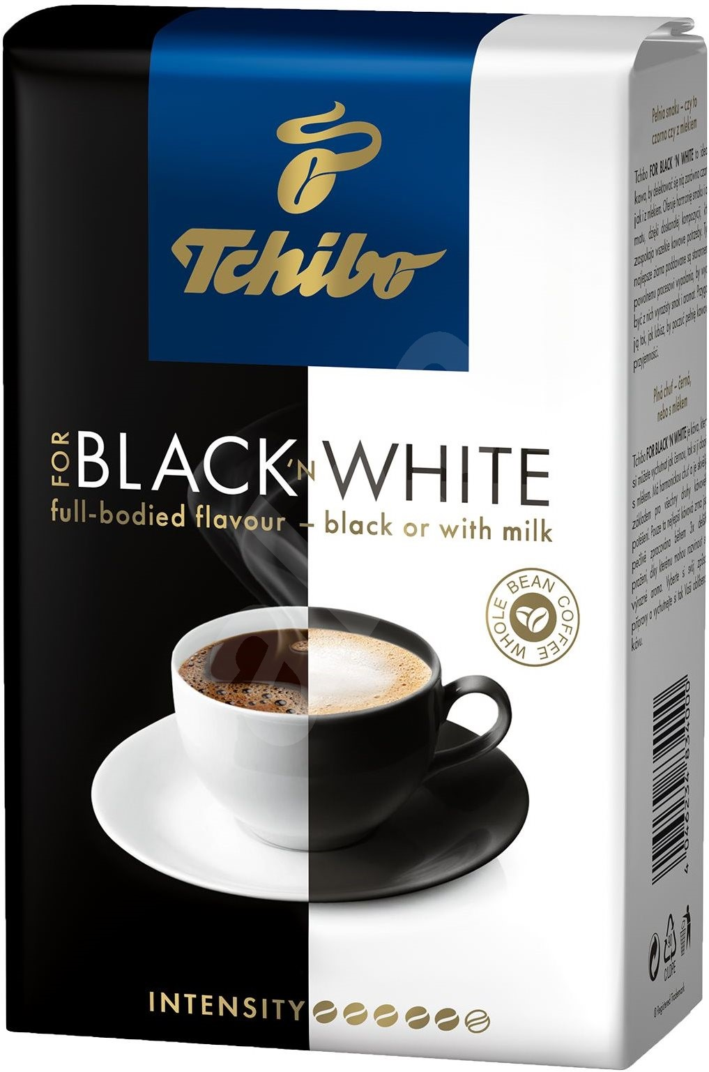 tchibo black white 500g bohnen kaffee. Black Bedroom Furniture Sets. Home Design Ideas