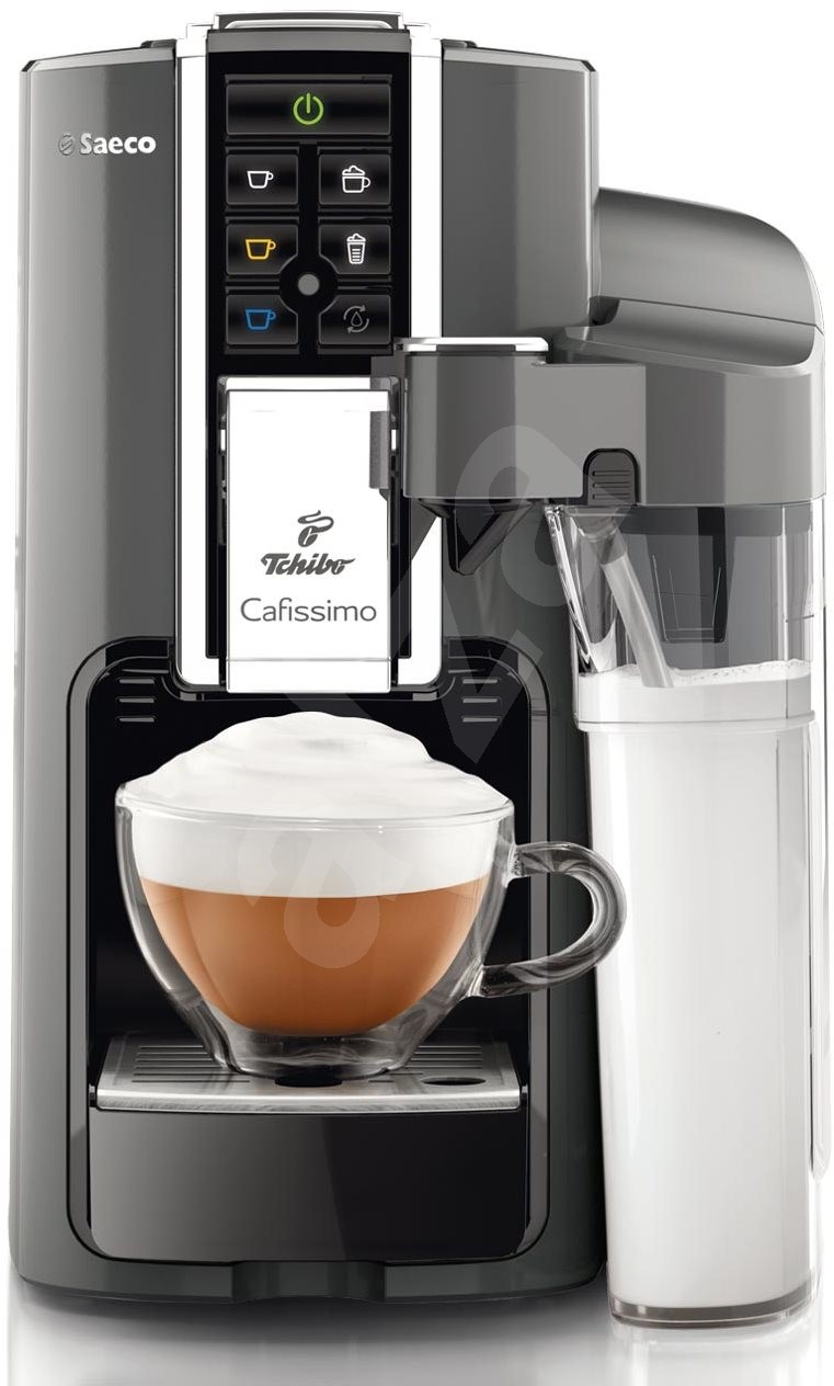 tchibo cafissimo latte argento capsule coffee machine. Black Bedroom Furniture Sets. Home Design Ideas