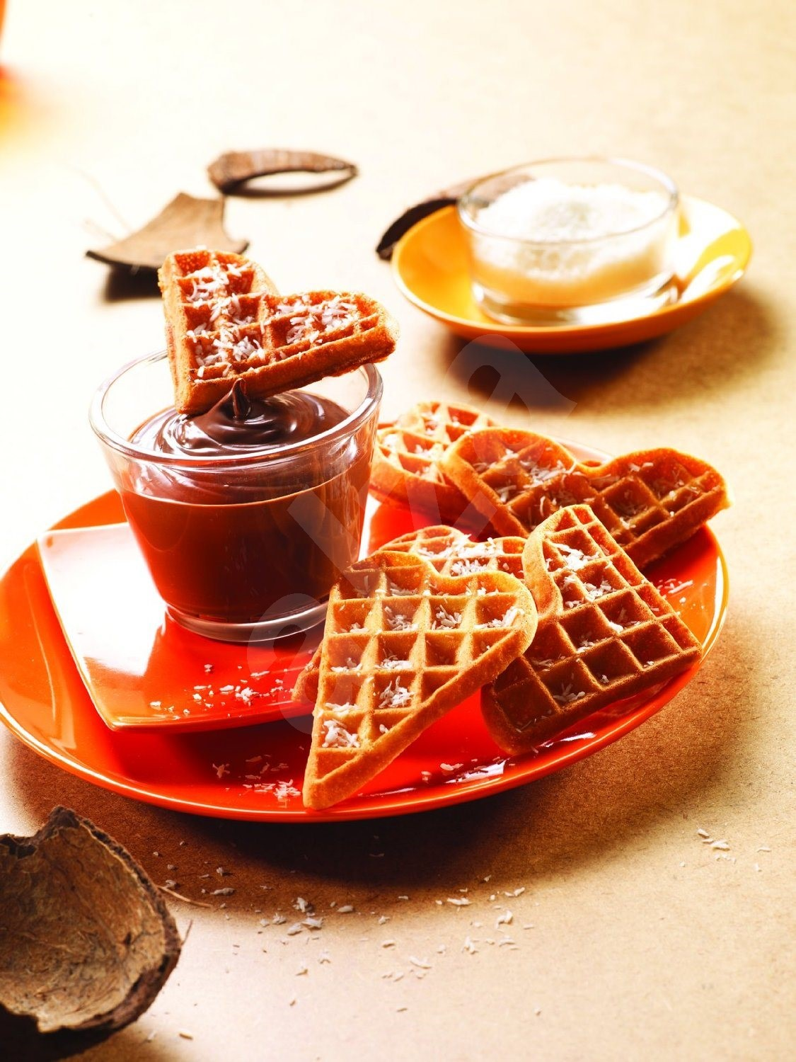 tefal snack collection heart waffles box accessory. Black Bedroom Furniture Sets. Home Design Ideas