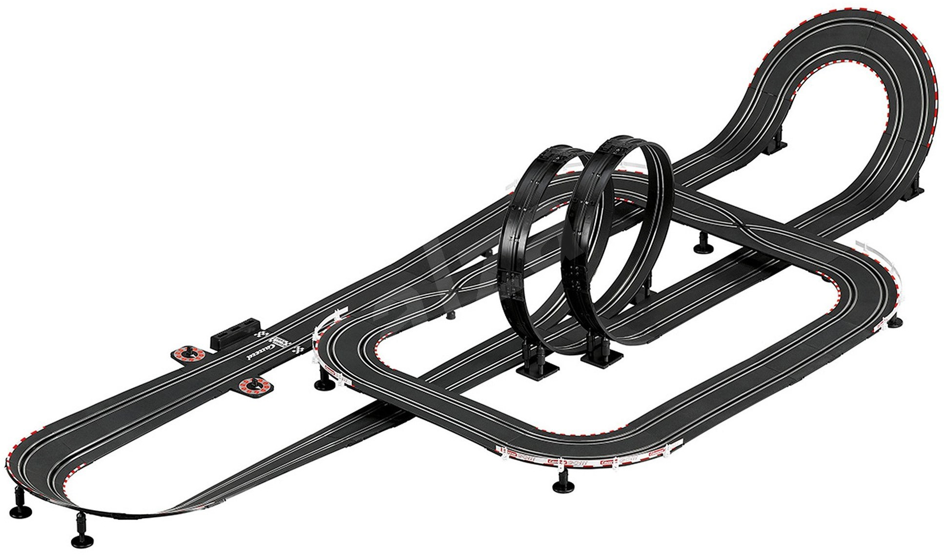 carrera go hot lap slot car track. Black Bedroom Furniture Sets. Home Design Ideas