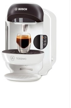 Bosch Coffee Maker White : BOSCH TASSIMO TAS1254 white - Espresso Machine Alzashop.com