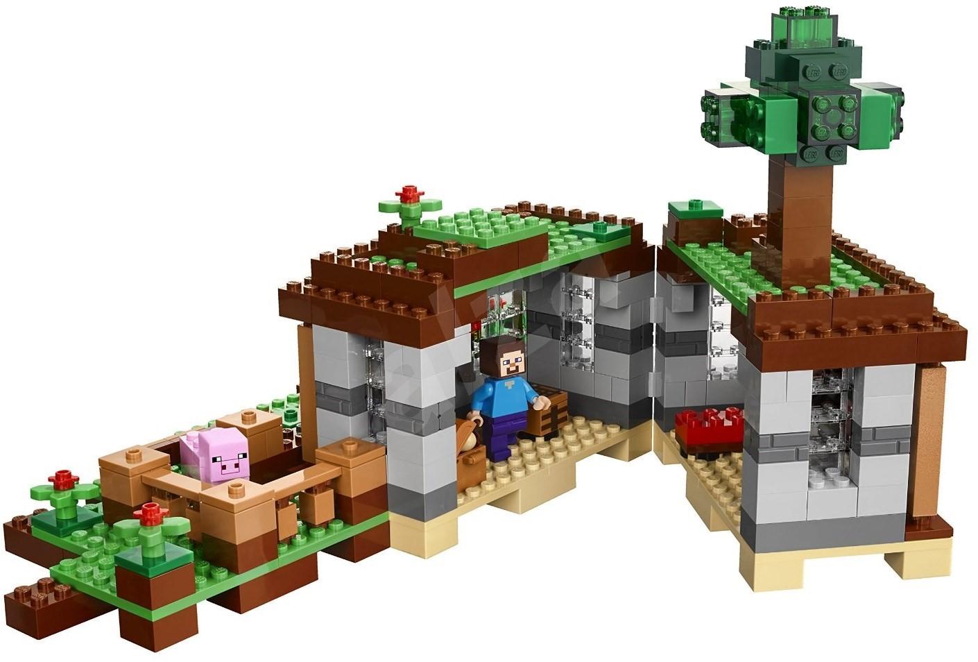 lego minecraft 21115 steves haus baukasten. Black Bedroom Furniture Sets. Home Design Ideas