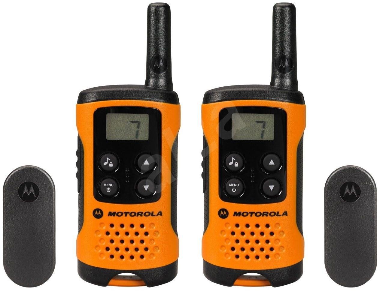motorola tlkr t41 orange walkie talkie. Black Bedroom Furniture Sets. Home Design Ideas