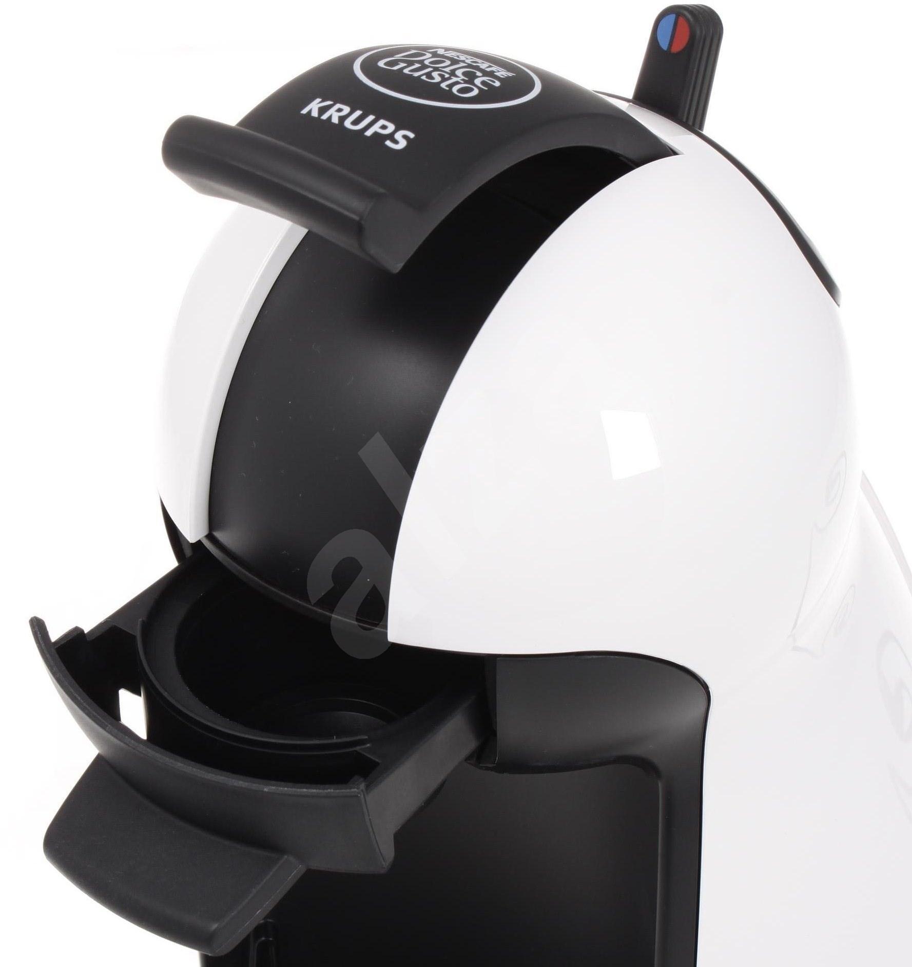 kp1002e2 krups nescaf dolce gusto piccolo white espresso machine alzasho. Black Bedroom Furniture Sets. Home Design Ideas