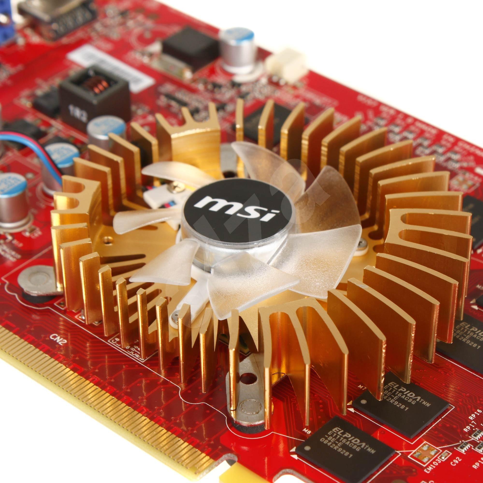 MSI N9500GT-MD1G-OC/D2 - graphics card - GF 9500 GT - 1 GB Specs