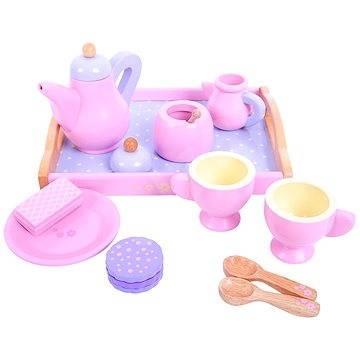 rosa holz teeset spielzeug spielzeug. Black Bedroom Furniture Sets. Home Design Ideas